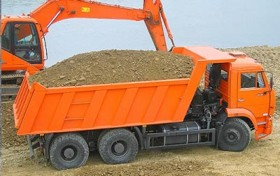 доставляем пескогрунт по москве и области